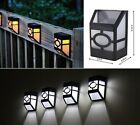 Update SMD Solar Powered Wall Mount Light Outdoor Landscape Garden Yard Fence
