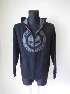 Harley-Davidson-Skull-Totenkopf-Kapuzenpulli-Hoodie-Pulli-Shirt-96494-18VM