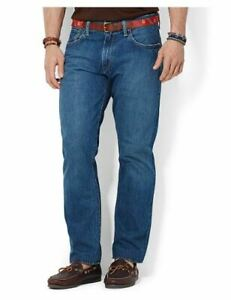 Polo Ralph Lauren Mens Hampton Relaxed Straight Jean