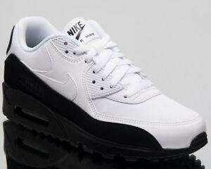 low priced 7af37 2d694 Image is loading Nike-Air-Max-90-Essential-Lifestyle-Shoes-White-