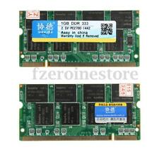 XIEDE 2Gb (2x1Gb) Ddr-333 Pc2700 Pc2700s 200p Laptop sodimm Memoria Memory SDRAM