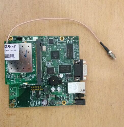 Mikrotik RouterBoard RB411 MiniPCI RouterOS Level 3 R52 Wifi card