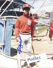 Jose Oquendo 1987 St Louis Cardinals Autographed Signed 8x10 Photo #2 COA