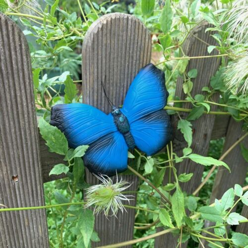 Wall Mountable Garden Butterfly Ornaments 4 Colours Available