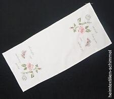STICKEREI Tischdecke SOMMER Tischläufer ROSE Tischdeckchen Decke Deckchen 40x90