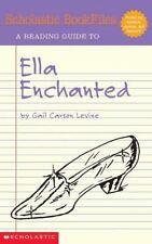 Scholastic Bookfiles: Ella Enchanted By Gail Carson Levine, Conelly, Irene, 0439