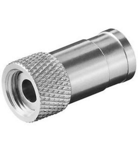 F-Stecker,selbstfixierend für Kabel-Außen-ø 8,2mm F-Stecker 8,2mm 10er Setp.