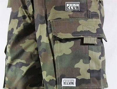 "New Mens PROCLUB TWILL CARGO Casual Tactical Combat Short Pants SIZE 30""-64"""