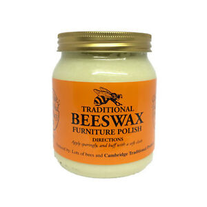 Cambridge Traditional Beeswax Wooden Furniture Polish Cream Neutral 283g Ebay