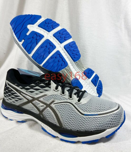 New Asics GEL Cumulus 19 Sz 13 Mens 48 Running T7B3N Training 2019 Silver Blue