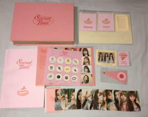 IZONE IZ*ONE-Secret Time (DVD+PhotoBook+Calendar+Photocards+Sticker+Magnet)