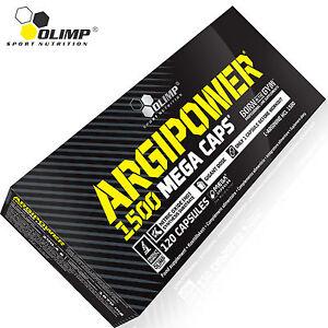 Details about ARGIPOWER120 Caps  MASSIVE DOSE L-ARGININE 1500 mg Nitric  Oxide PUMP Booster