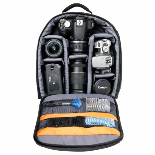 Backpack w// Customizable Interior /& Raincover for Lomography Diana F+ Rucksack