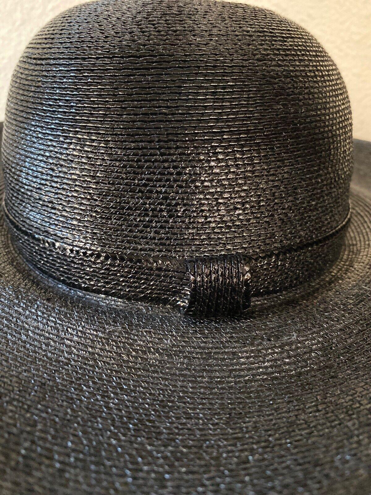 Vintage Amen Wardy Large Hat ! 1980's Large Brim … - image 10