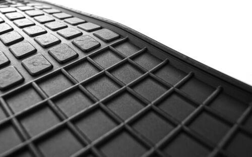 Gummimatten Fiat 500 500C Original Qualität Auto Fußmatten 4-teilig schwarz