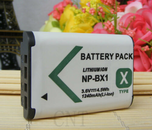 Battery for Sony NP-BX165144RX100 II III IV V HX60V HX90V HX400V WX300 500