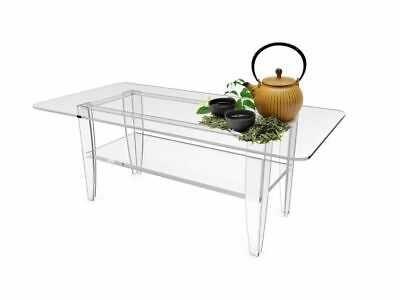 All Clear Tabel Plexigl Coffee Table