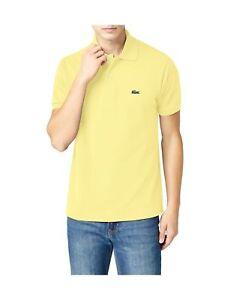 cf566b062 Lacoste Men s Polo Shirt Yellow(light Yellow) X-Large (Manufacturer ...