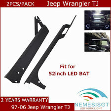 97-06 Jeep Wrangler TJ For 52Inch 300W LED Light Windshield Hot Mounting Bracket