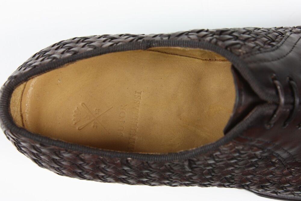 Sutor Mantellassi Scarpe: 7 UK / / / 8 US Dark brown lattice kilted oxford 63ad86