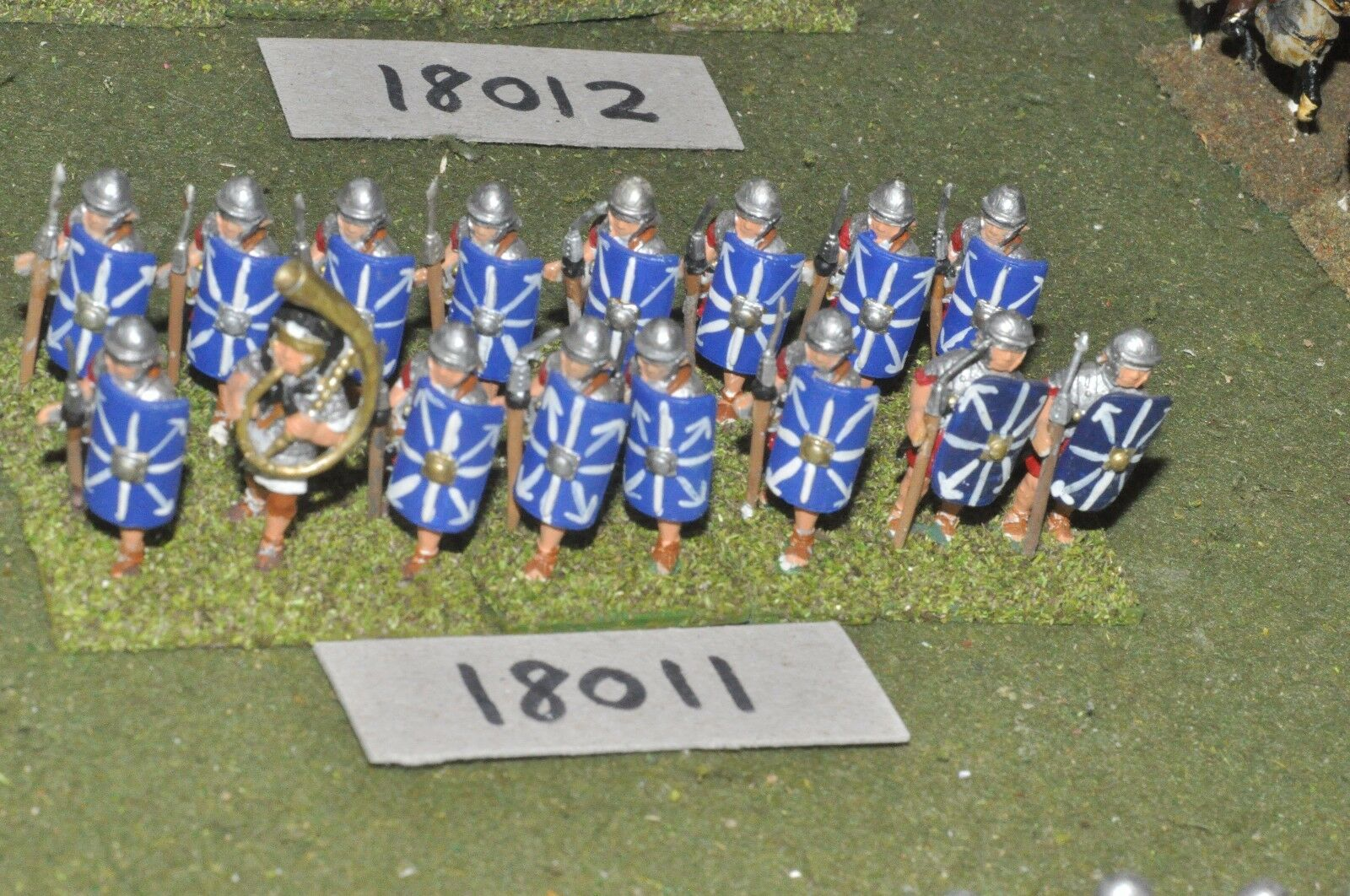 25mm época Romana Romana-legionarios 16 higos-INF (18011)