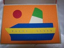 CRUISE SHIP Lauri  7 Piece Foam Puzzle #2806 in original box Puzzle is EXCELLENT