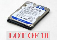 "Lot of 10 Western Digital Scorpio Blue WD3200BPVT 320GB 5400 RPM 2.5"" Hard Drive"