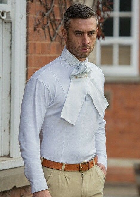 Shires Gents Hunting Shirt - Knitted Jersey polyester cotton - Great Base Layer