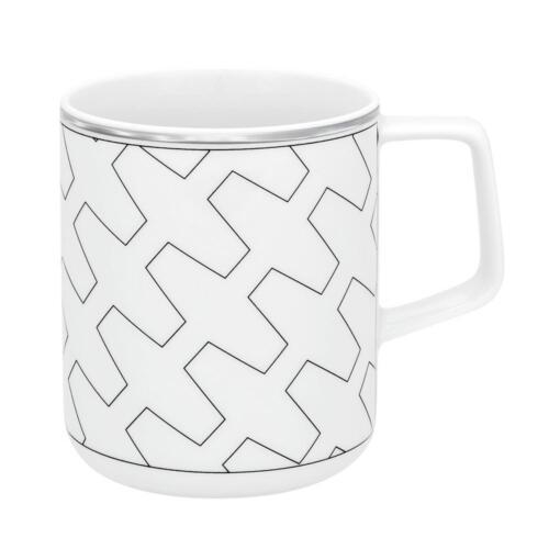 Vista Alegre Porcelain Trasso Mug - Set of 4