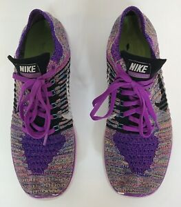 many fashionable discount sale new release $130 Nike Free RN Flyknit Pink Purple Women's Sneakers Running ...