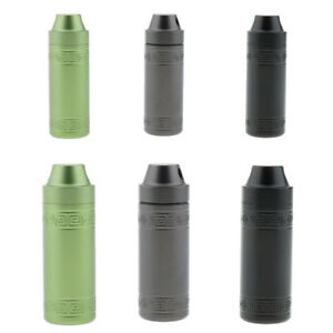3Colors Survival Waterproof Pill Case Capsule Airtight Seal Bottle Container Box