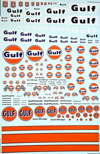 Gulf Sponsoren Bogen No.3-1:32 Decal Abziehbilder