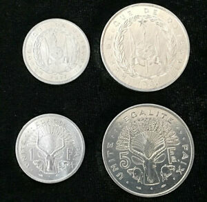 DJIBOUTI-SET-2-COIN-1-2-FRANCS-1977-1986-UNC
