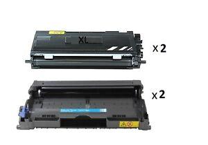 2-Tambour-2-XXL-Toner-compatible-pour-Brother-mfc-7420n-mfc-7820-hl-2030-hl-2040