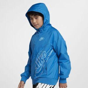 a0a7e39b Image is loading Nike-Big-Boys-Sportswear-Windrunner-Full-Zip-Jacket-