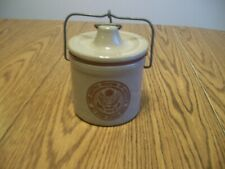 VINTAGE THE GREAT SEAL OF THE UNITED STATES OF AMERICA CROCK LID & WIRE