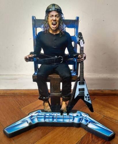 "KIRK HAMMETT DISPLAY 8/"" STANDEE Figure Statue Cutout Metallica Doll Toy Standup"