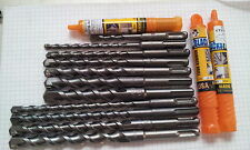 ETSTB-14x500 SDS Steinbohrer 14mm Durchmesser 500mm Gesamtlänge ETSTB-14x500-SDS