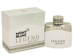 Mont Blanc Legend Spirit Eau De Toilette Spray 1.7 Fl Oz for Men