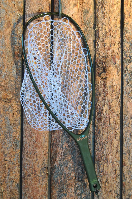 FISHPOND NOMAD NATIVE NATIVE NOMAD LANDING FISHING NET ORIGINAL LIGHT CARBON FIBER RUBBER BAG 962981