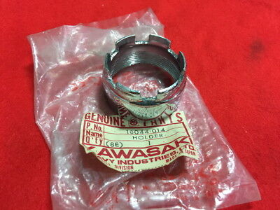 NOS Genuine OEM Kawasaki KH 100 KH100 G7 Muffler Bracket Exhaust Holder Hanger