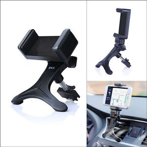 1x 360° Support Smart Phone Holder GPS Cradle Auto Car Air Vent Outlet Mount 65g