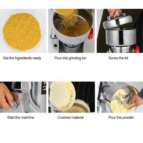 1000g Grains Coffee Dry Food Grinder Mill Spices Cereals Grinding Machine PRO