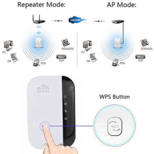 NEW WiFi Range Extender Super Booster 300Mbps Superboost Boost Speed Wireless N