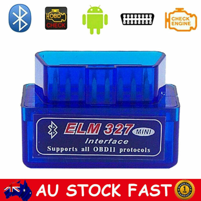ELM327 Bluetooth Scanner OBDII OBD2 Car Auto Android Code Diagnostic CAN Tool AU