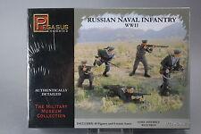 YH073 PEGASUS HOBBIES 1/72 maquette figurine 7270 Russian Naval Infantry WWII