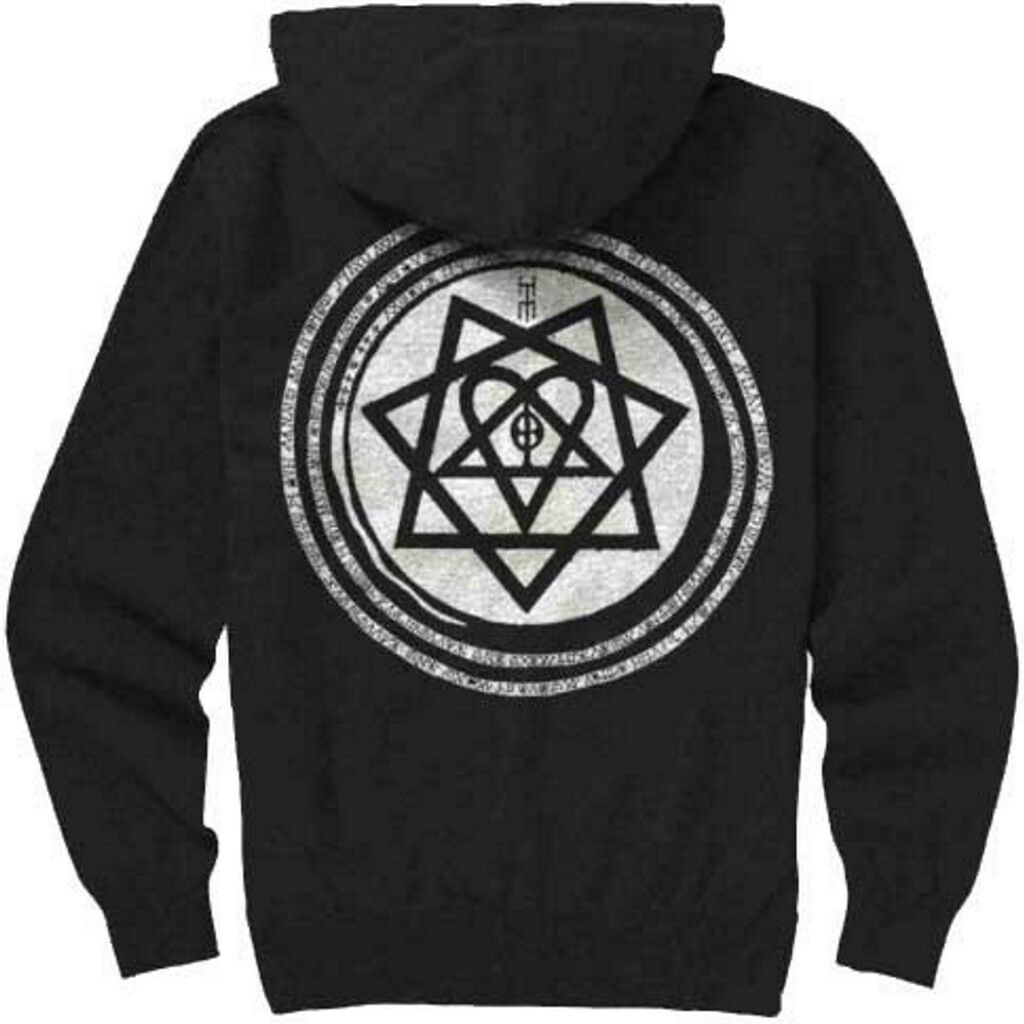 HIM 'Tears On Tape Tape Tape Heartagram' Pull Over Hoodie - NEW & OFFICIAL | Professionelles Design  | Moderne Muster  | Verkauf Online-Shop  3a1a7c