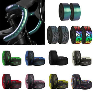 2PACK-Road-Bike-Handlebar-Tape-Bicycle-Drop-Bar-Wrap-Outdoor-Sports-Non-Slip-lot