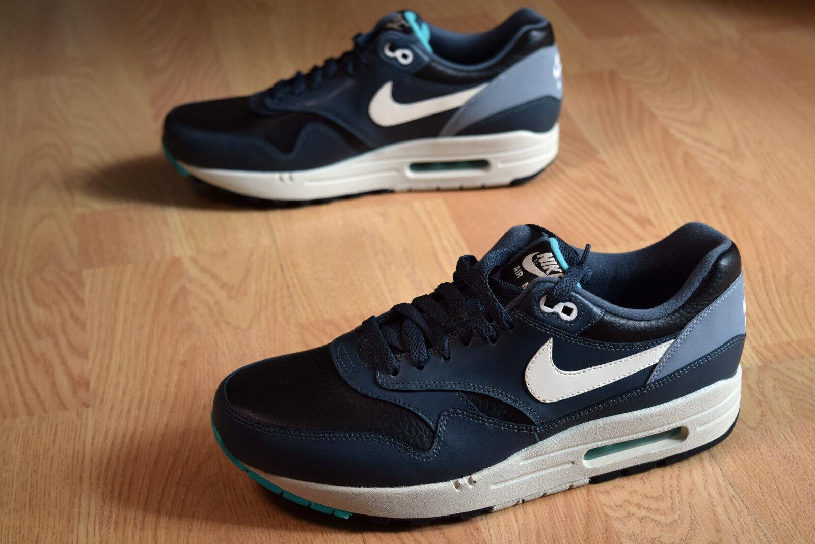 Nike Air Max 1 LTR  41 42 classic 90 bw fReE pEGaSuS LiGhT rOsHe rUn 654466 002