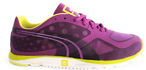 2511a2e58d8 Image is loading Puma-Faas-100-R-Womens-Trainers-Running-Shoes-